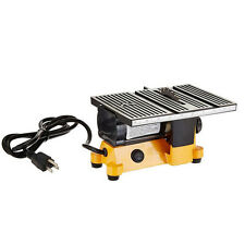 """STO Mini 4"""" Table Bench Saw Electric Portable Wood Metal Glass Cutting Tool 220V"""