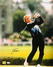 Jack Nicklaus Autographed 16x20 Photo Swing Shot - Fanatics Golden Bear