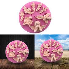 1x 3D Aile D'ange Silicone Moule Gâteau Chocolat Bonbon Pâtisserie Fondant Sucre