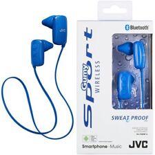 Auricolari e cuffie blu in-ear canal con microfono