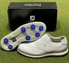 New listing FootJoy 2021 Traditions Golf Shoes 57903 White 12 Medium (D) New in Box
