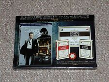 James Bond 007 Casino Royale Limited Edition DVD with Poker Set Fullscreen New