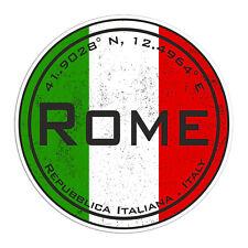 2 x 10cm Rome Italy Europe Vinyl Stickers - Travel Sticker Laptop Luggage #23112