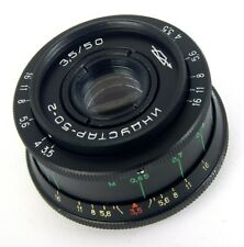 Lens INDUSTAR 50-2 3,5/50 M42 SLR USSR ALMOST PERFECT CONDITION