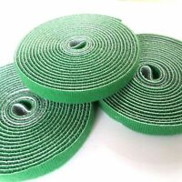 3 Tie Tape Plant Ties Hook & Loop Garden Supports bamboo cane support Wrap