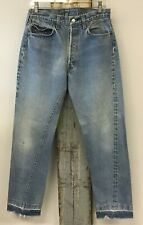 "Vintage 1970's 501 Levi's Redline Selvedge Small e Denim Jeans 31""  x 31"" USA"