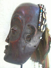 Old african mask. Ancien masque africain Tchokwe +