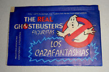 THE REAL GHOSTBUSTERS stickers cards unopened pack ARGENTINA 1992 CPT Holdings