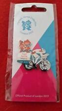 Olympics London 2012 Venue Sports Logo Pose Pin - Track Cycling