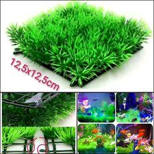 New listing Mini Lawn Grass Mat Aquarium Artificial Plant Water Plants Decor Decoration