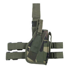 MFH Fully Adjustable Right Tactical Leg Holster Woodland