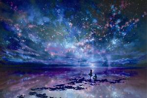 300 Pcs Kid Adult Puzzle Starry Night Sky Galaxy Jigsaw DIY Educational Toy Gift