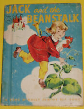 Jack and the Beanstalk - Junior Elf book 1951 Great Illustrations! Nice See