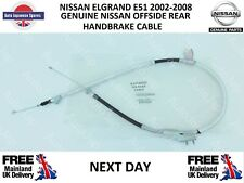 Genuine Nissan Elgrand E51 3.5i 2.5i Offside Rear Hand Brake Cable NEXT DAY