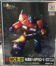 New, transformers MP10-V optimus prime alloy and accessory pack box