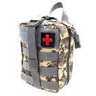 EMT IFAK Tactical First Aid Kits Survival Molle Rip-Away Medical Bag Backpack