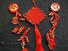 2 Chinois 58 cm artificielle des pétards Hanging G Lucky Noeud charme japonais Parti
