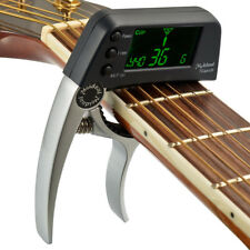 2 in 1 Tcapo20 Guitar Capo Tuner with LCD for Acoustic Folk Electric Guitar Bass