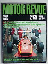 Zeitschrift Motor Revue Heft 70 2.1969 mit Rolls Royce Silver Shadow Test