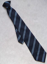 Tie Vintage Retro Necktie BOYS MENS School College Club NAVY BLUE STRIPED
