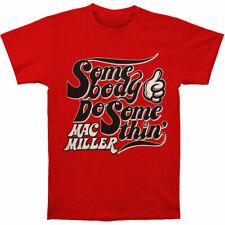 Mac Miller Somebody Do Somethin' Mens Shirt - Size: Medium