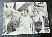 foto originale ENZO, PATRIZIA e ROSSANA MAIORCA record immersione apnea SIRACUSA