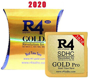 R4 Gold Pro SDHC for nintendo DS/3DS/2DS/ Revolution +lecteur envoide france