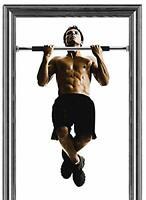 Exercise Pull Up Door Bar Chin Ups Fitness Home Gym Push Doorway Training