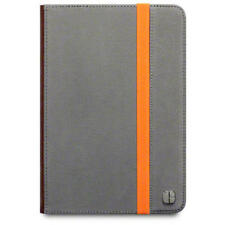 Grey/Orange Elmwood Canvas Wallet Case for Apple iPad Mini - C by Covert