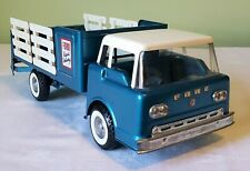 Early Nylint Toys Ford COE Cab FORD RAPID DELIVERY STAKE TRUCK 60's V RARE NICE