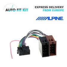 Alpine 16 Pin ISO Wiring Harness Loom Adaptor Wire Radio Connector Lead