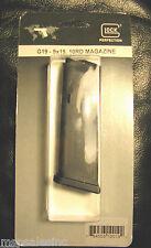 Glock G19 - 9mm 10 Round Factory NEW Pistol Magazine Gen 4 Also fits Gen 3 2 1