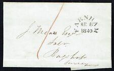 1840 wrapper Farnham Surrey to Bagshot with FARNHAM d.s.