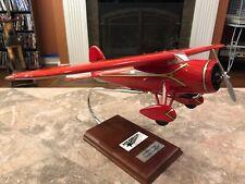 Lockheed Vega Airplane Amelia Earhart Desk Top Display 1/24 Model Plane