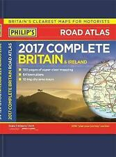 Philip's Complete Road Atlas Britain and Ireland 2017: Hardback, Philip's Maps,