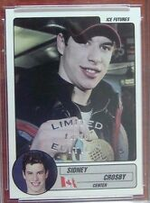 (8) 2003 SIDNEY CROSBY ICE FUTURES (8) #/10 !  80% OF THE PRODUCTION WOW