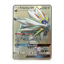 Solgaleo GX Full Art Holo Sun & Moon Base Set 143/149 (Proxy | Flash Card)