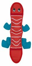 Petstages Outwardhound squeeky toy Fire Biterz Lizard Red 2 Squeakers