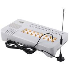 16 sim channels GOIP-16 VOIP GSM gateway  GOIP support IMEI change  asterisk