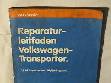 T3+Syncro+Joker 2,1 Motor+Einspritzung DJ+MV Reparaturleitfaden Reparaturbuch
