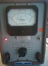 Hewlett Packard Model 400d Vacuum Tube Voltmeter