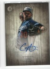 Chris Anderson 2014 Bowman Inception Prospect Auto Autograph LA Dodgers