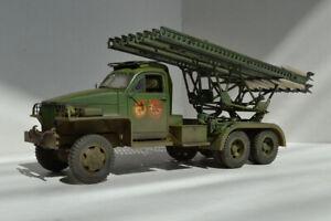 BM-13N KATYUSHA on STUDENAKER 1/35 built model