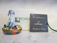 Disney Limoges Trinket Box of Hunchback of Notre Dame Esmerelda's Goat Artoria