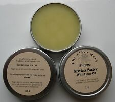 The Elder Herb Shoppe Arnica Salve with Pure Emu Oil 2 oz. 100% Natural