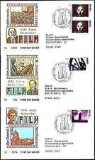 BRD 1995: Film-Blockmarken! FDC Nr. 1815-1817! Berliner Stempel! Gelaufen! 1709