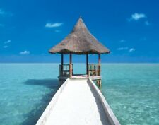 Poster PHOTO ART - Maledives Pier NEU  z178