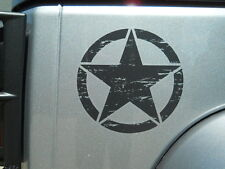 Jeep Wrangler 2012-2014 Freedom Edition Star decal sticker nameplate badge OEM