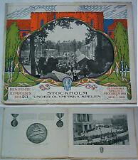 Orig. PRG/Pictorial Review JEUX OLYMPIQUES STOCKHOLM 1912!!! EXTREM RARE