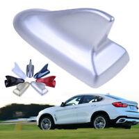 Silver Car SUV Shark Fin Antenna Roof Dummy For BMW Wagon Aerial Trim Universal
